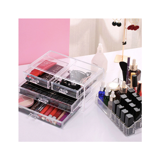 Make Up Organizer mit Schubladen