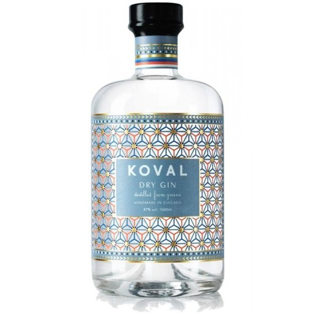 Koval, Dry Gin, 50cl