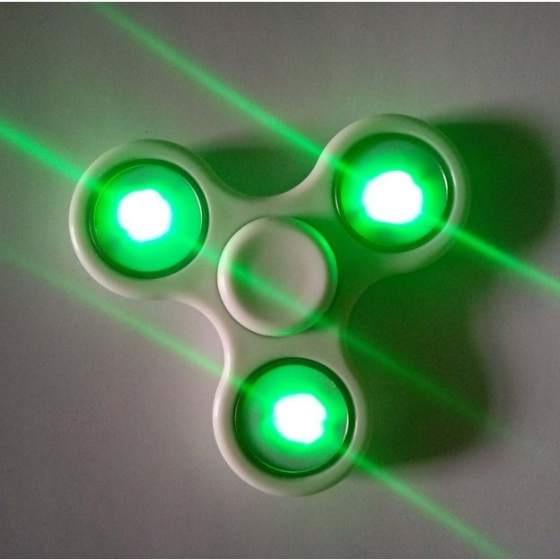 Fidget spinner LED ou fluorescent