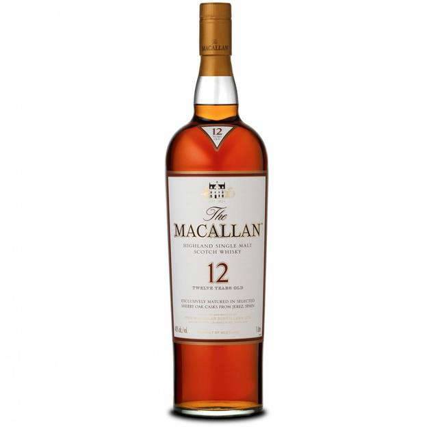 The Macallan 12 Year Old Sherry Oak Single Malt Whisky 70cl