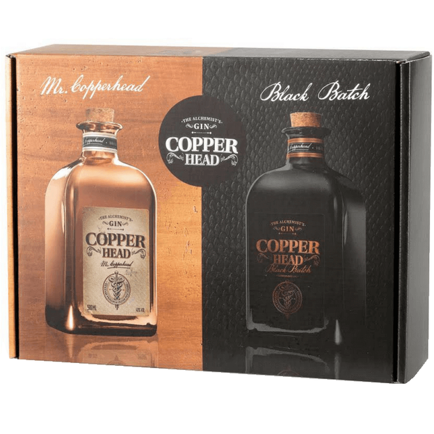 Duobox Copperhead und Black Batch Gin