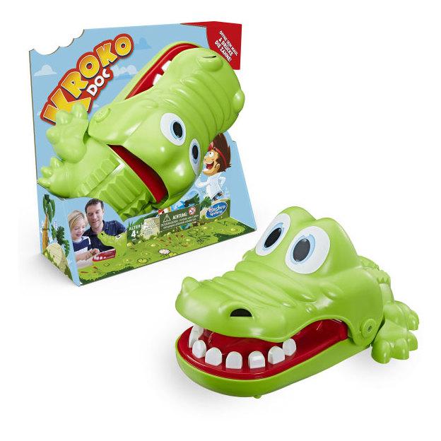 Hasbro Crocodile Kroko Doc - Jeu d'adresse