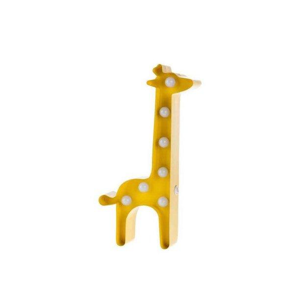 Vegas Lights Leuchtsymbol Giraffe