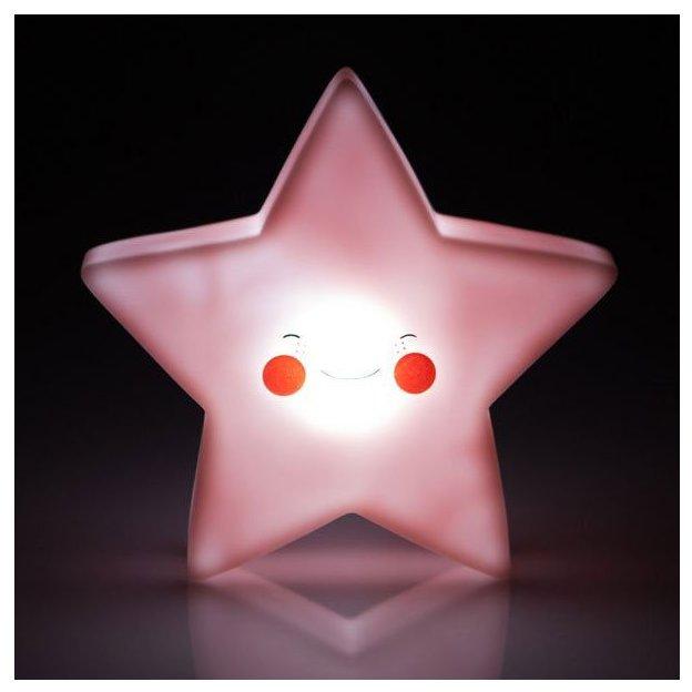 Vegas Lights Nachtlicht Stern Rosa