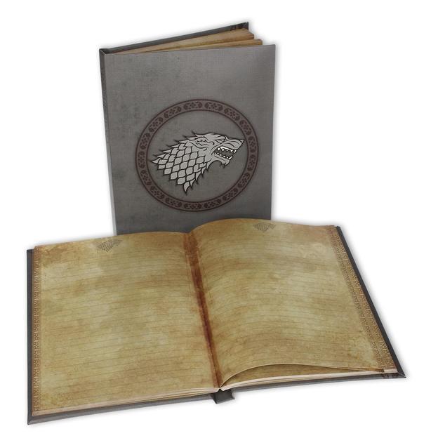 Game of Thrones Notizbuch mit Leuchtfunktion