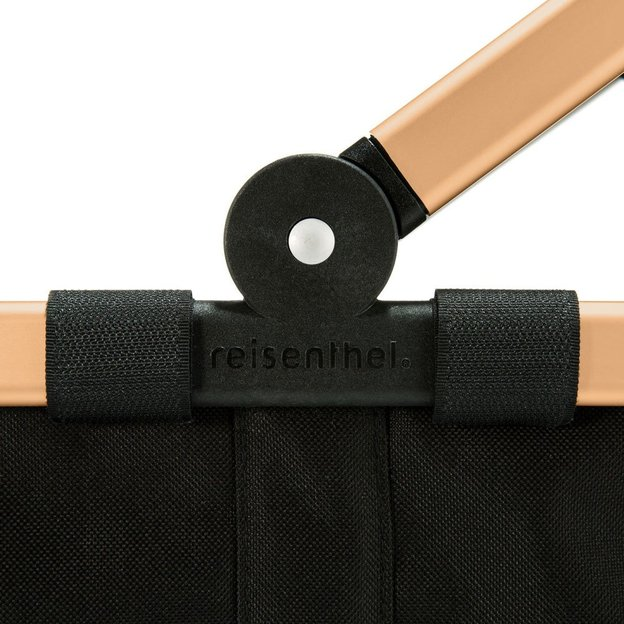 Reisenthel Carrybag mit goldenem Rahmen 22L