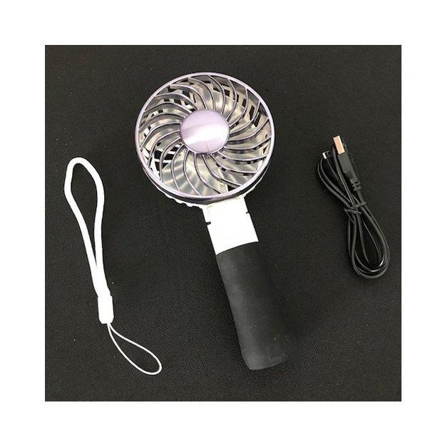 Mini-ventilateur USB portable, noir