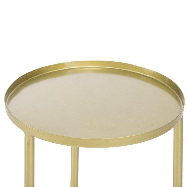 Beistelltisch gold aus Messing