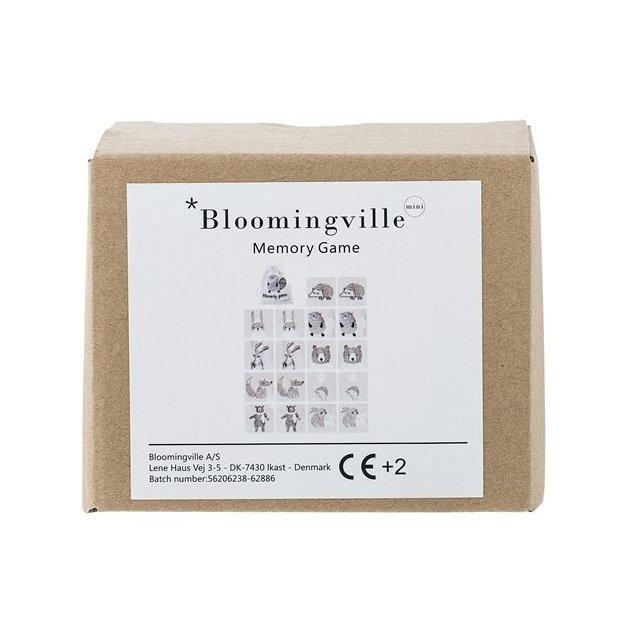 Bloomingville Memory Spiel Natur Holz