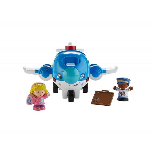 Avion Fisher Price avec figurines