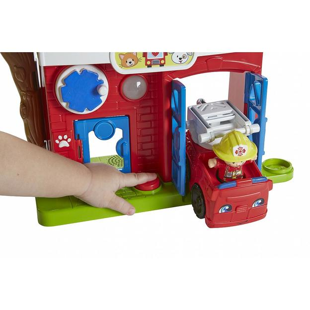 Fisher-Price Little People Tier-Rettungsstation