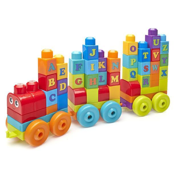 Train Fisher-Price ABC avec plots
