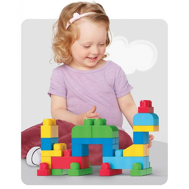 Fisher-Price Bausteinebeutel - Gross 80 Teile