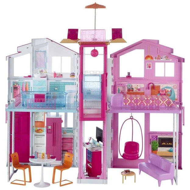 Maison Barbie de 3 étages