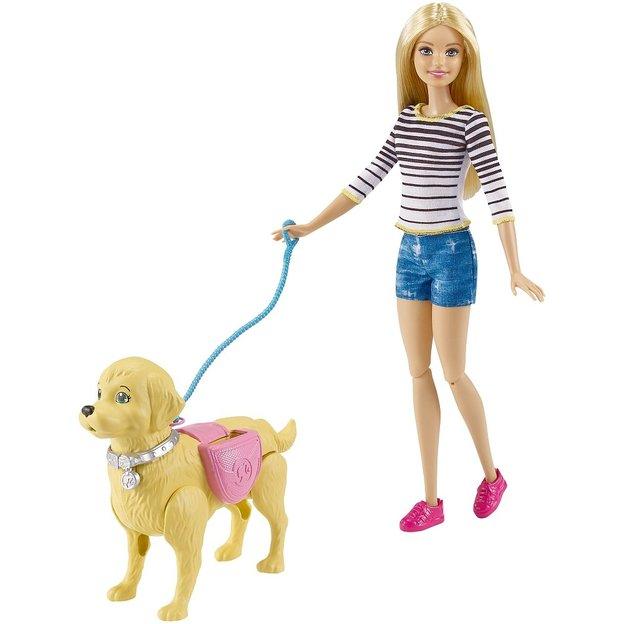Barbie Hundespaziergang