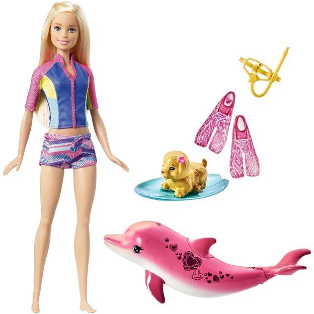 Barbie und tierische Freunde