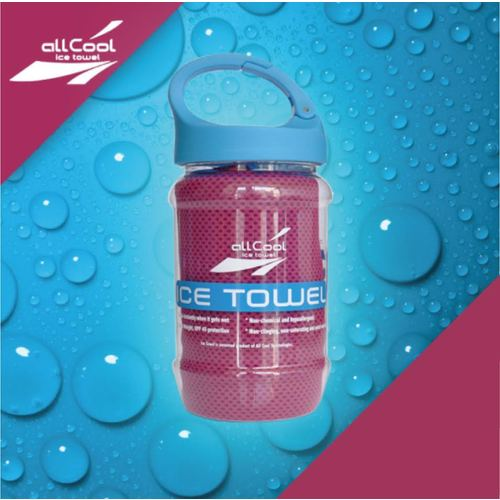 Image of All Cool Eis Handtuch pink