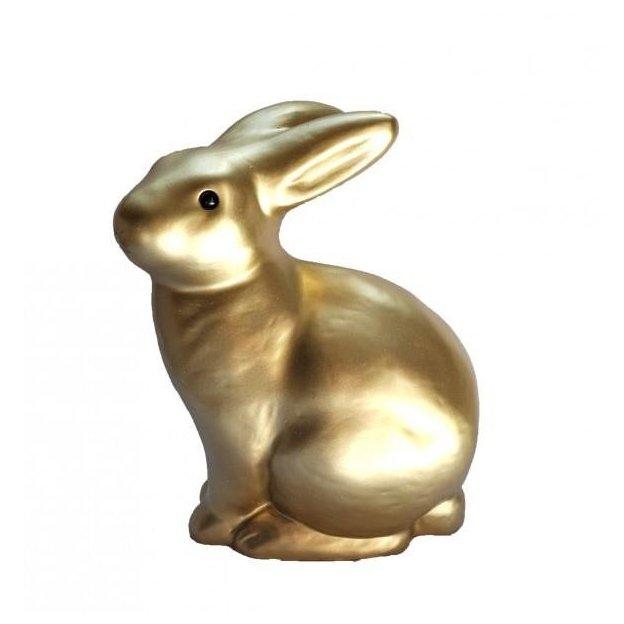 Nachtlicht Hase Gold 25 cm