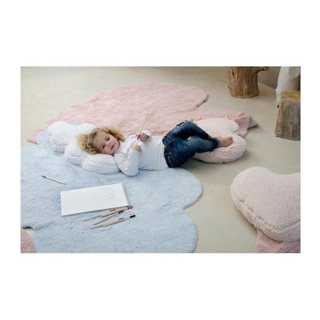 Kinderteppich Puffy Love 110 x 170 cm waschbar