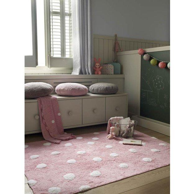 Kinderteppich Topos Pink 120 x 160 cm waschbar