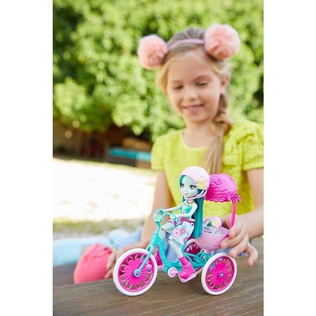 Enchantimals Taylee Turtle und Fahrrad