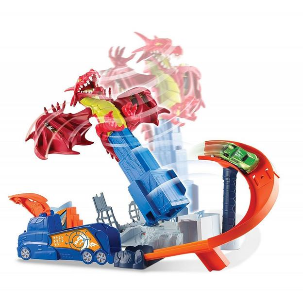 Hot Wheels Drachen-Attacke Spielset