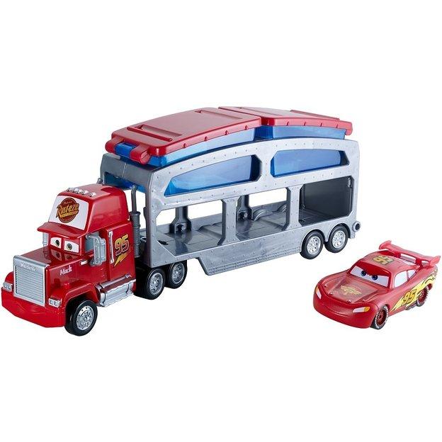 Camion Mack avec Flash McQueen changeant de couleur Cars