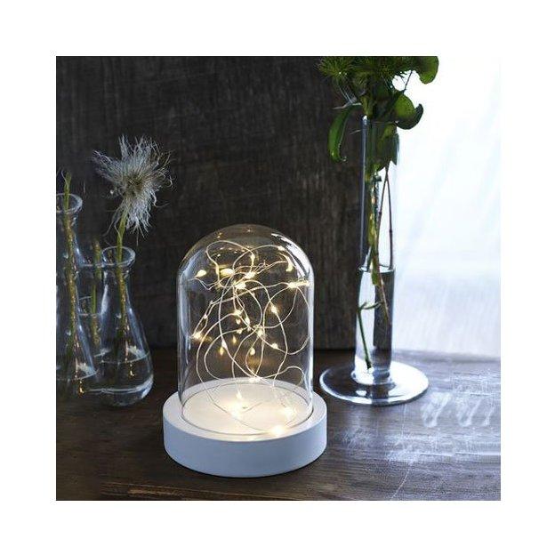 Sirius Cloche en verre avec lumière féérique Bella - petite