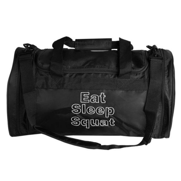 Personalisierbare Sporttasche 32 L. schwarz
