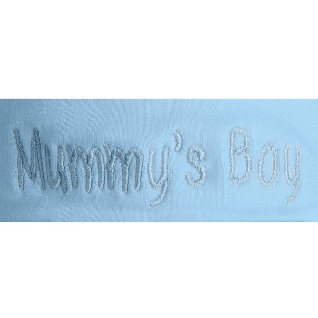 Personalisierbare Babymütze blau