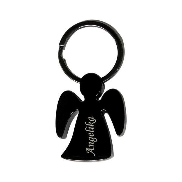 Porte-clés personnalisé Ange gardien