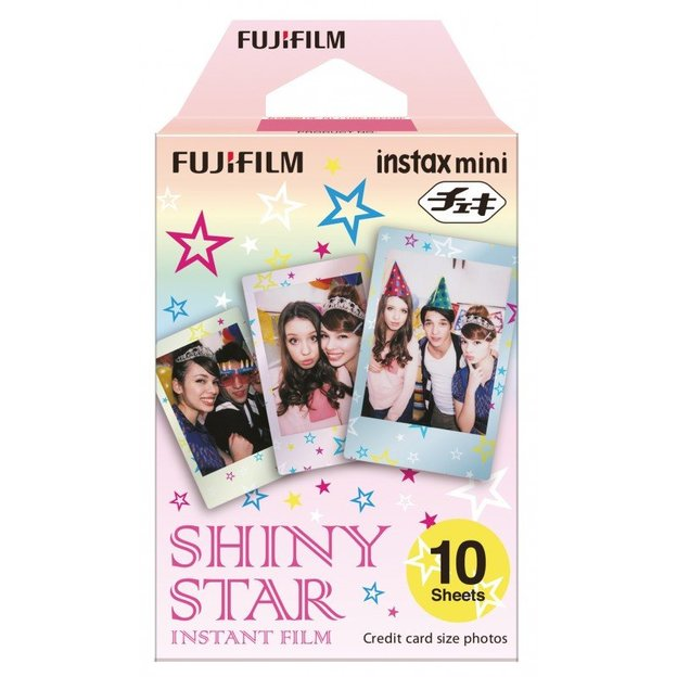 Instax Color Mini Star - 10er Film