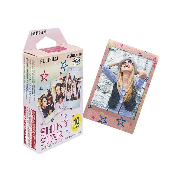 Instax Color Mini Star - 10 images