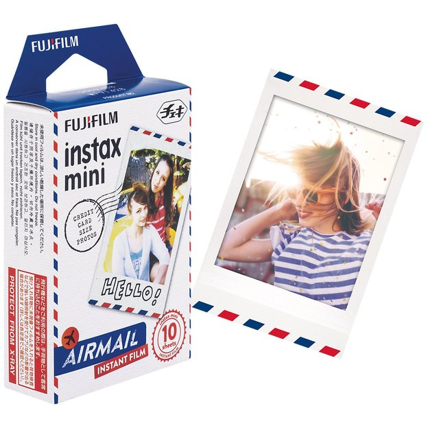 Instax Color Mini Air Mail - 10er Film