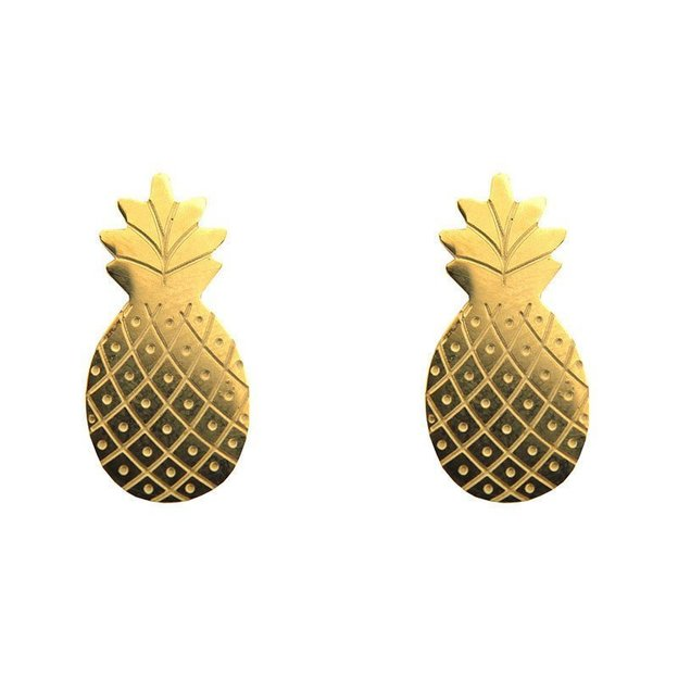 Sweet Deluxe Ohrstecker Ananas