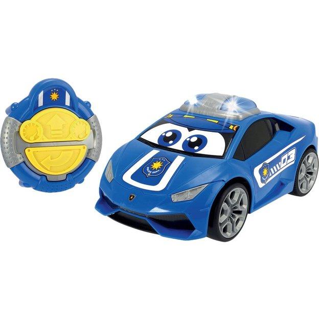 Voiture-jouet télécommandée Happy Lambourghini Hurican Police
