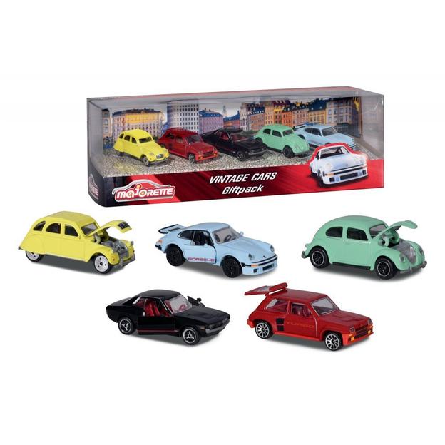 Majorette Vintage Cars Set bestehend aus 5 Autos