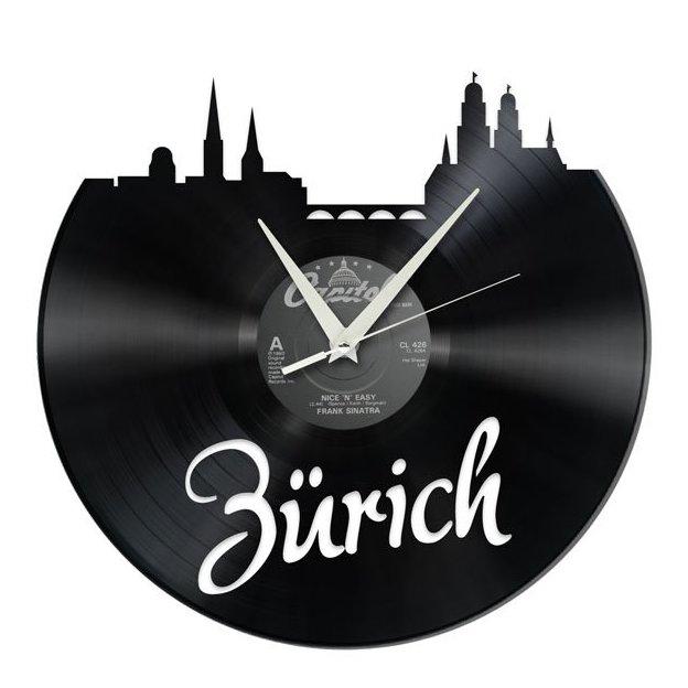 Schallplatten Wanduhr Zürich