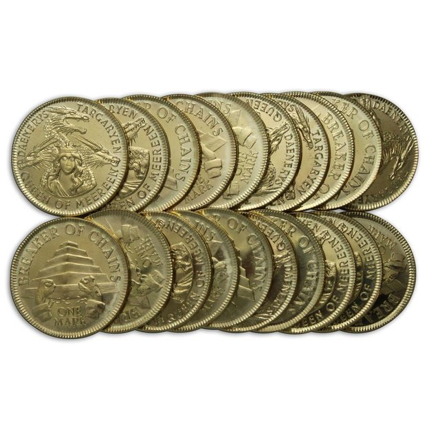 Game of Thrones Münzen-Set Daenerys Targaryen Golden Mark