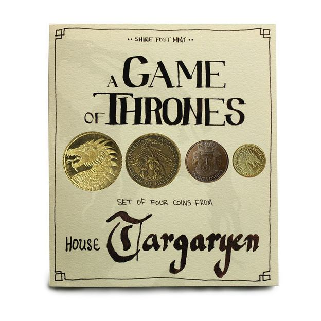 Game of Thrones Münzen-Set House Targaryen