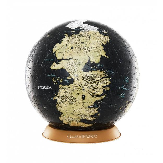Globe Game of Thrones Puzzle 3D