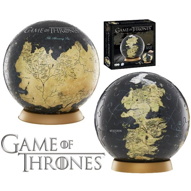 Game of Thrones 3D Globus Puzzle