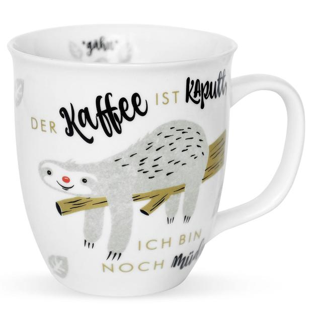 Faultier Tasse - der Kaffee ist kaputt