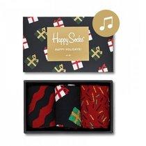 Chaussettes Happy Socks, coffret cadeau chantant de Noël