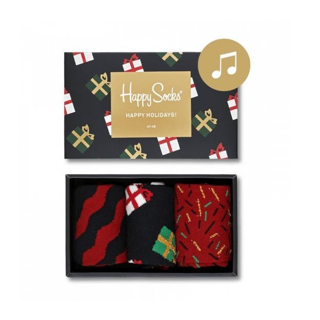 Happy Socks Singing Christmas Box