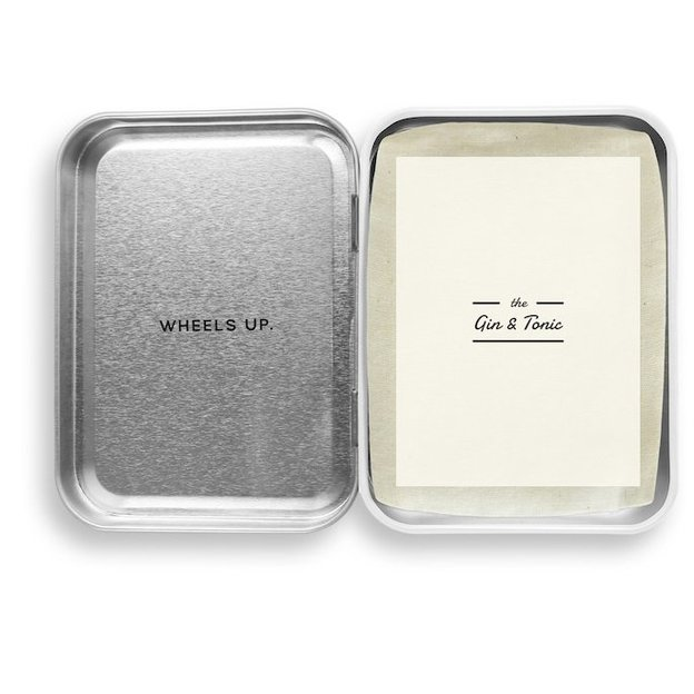 "Carry On Cocktail-Set von W&P Design NYC ""Gin & Tonic"""