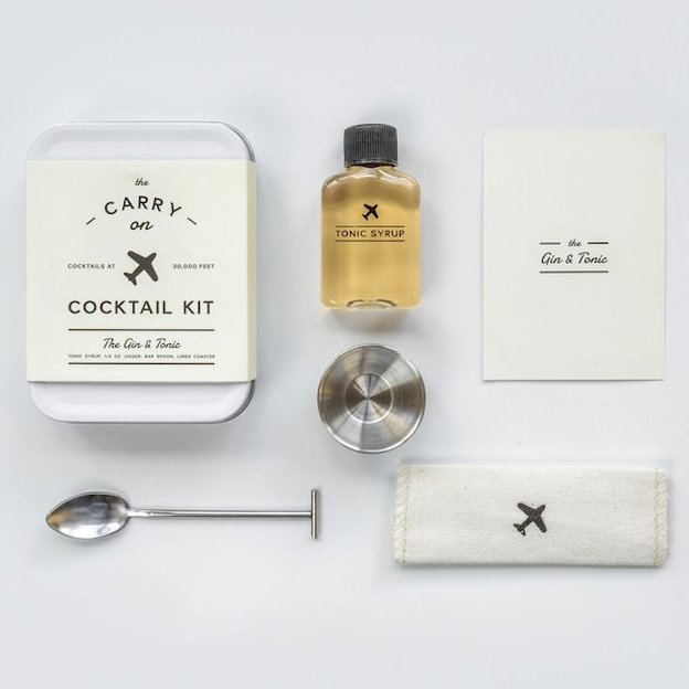 Carry On Cocktail Kit de W&P Design ''Gin & Tonic''
