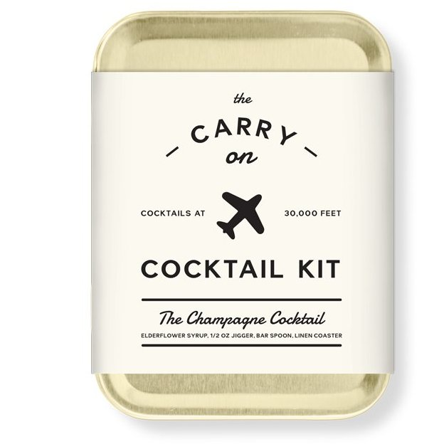 Carry On Cocktail Kit de W&P Design ''Champagne''
