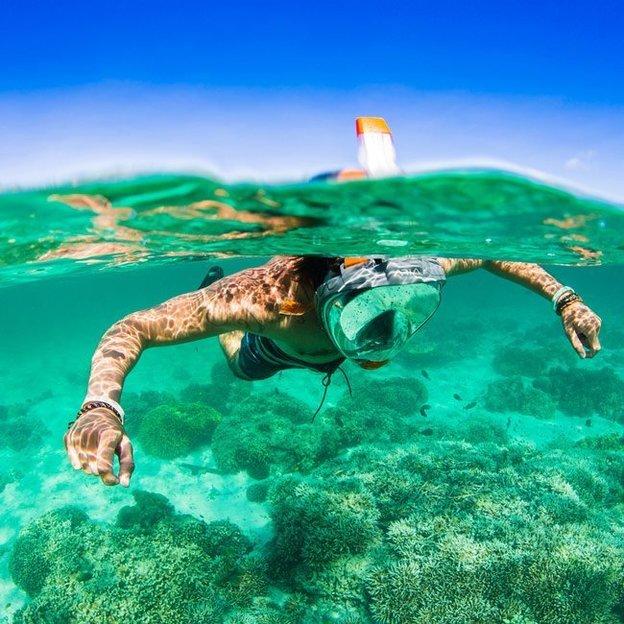 Ocean Reef Vollgesichts-Tauchmaske