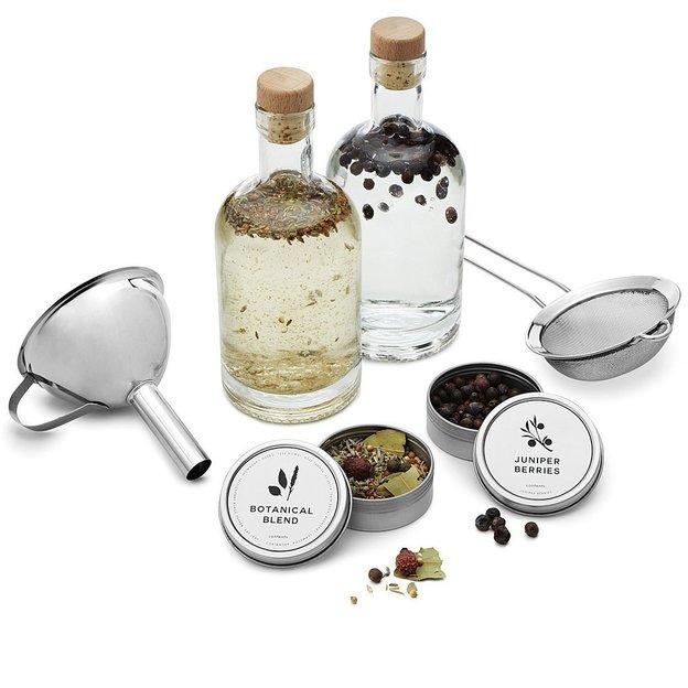 Kit pour fabriquer son propre gin